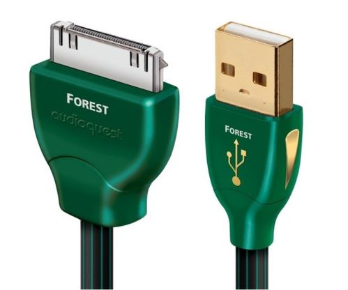 Audioquest Forest USB 0,75m A na 30 PIN