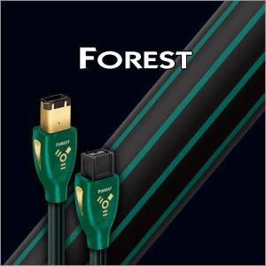 Audioquest Forest  FireWire 1,5m -6pin na  9pin kabel