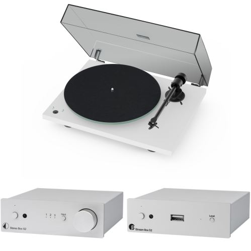 Pro-ject  Set Best of Both Worlds - T1 phono SB/Stereo Box S2/Stream Box S2