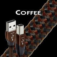Audioquest Coffee USB 0,75m -A na B